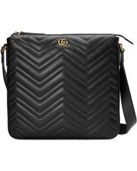 Gucci - GG Marmont Messenger Bag - Lyst