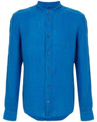 Peuterey - Mandarin Collar Shirt - Lyst