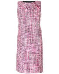 Akris Punto - Textured Shift Dress - Lyst