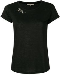 Patrizia Pepe - Distressed T-shirt - Lyst