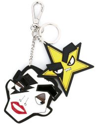 DSquared² | 'punk' Star Dual Keyring | Lyst