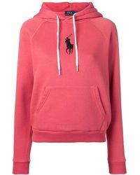 Polo Ralph Lauren Cotton-blend Hoodie - Red