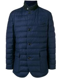 Loro Piana - Button Padded Jacket - Lyst