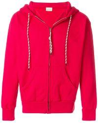 Aries - Zipped Hooded Sweatshirt - Lyst