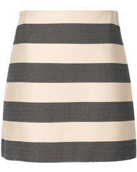 Derek Lam - Striped A-line Skirt - Lyst