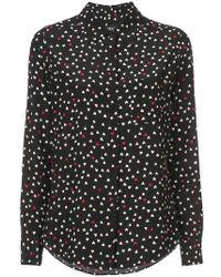 Paule Ka - Hearts Shirt - Lyst