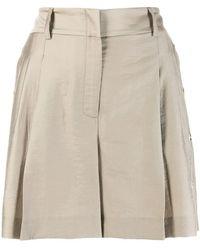 Liu Jo - Pleated Shorts - Lyst