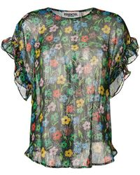 Essentiel Antwerp - Saleisha Floral Top - Lyst
