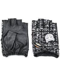 Karl Lagerfeld - Karl Space Tweed Gloves - Lyst