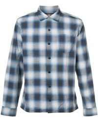 RRL - Long Sleeve Plaid Shirt - Lyst
