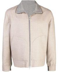 Brunello Cucinelli - Reversible Zip-up Jacket - Lyst