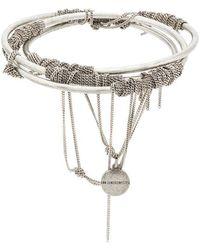 Ann Demeulemeester - Chain Detail Bracelet - Lyst