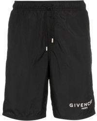 Givenchy - Gummy Logo Swimshirts - Lyst