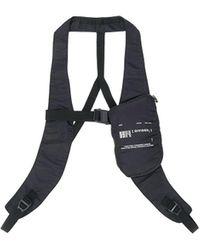 Julius Harness Strap Belt Bag - Black