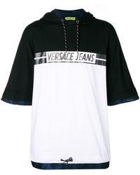Versace Jeans - T-Shirt mit Kapuze - Lyst