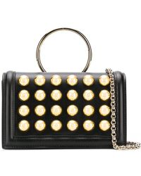 Elie Saab - Brass Rivet Clutch - Lyst