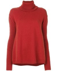 Societe Anonyme - Detachable Roll-neck Jumper - Lyst