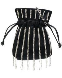Les Petits Joueurs - Crystal Embellished Mini Bag - Lyst