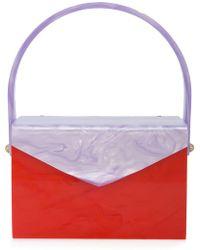 Edie Parker - Marbled Clutch Bag - Lyst