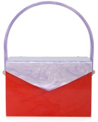 Edie Parker - Marbled clutch bag - Lyst