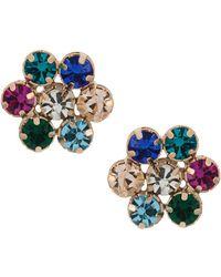 Serpui - Crystal Embellished Earrings - Lyst