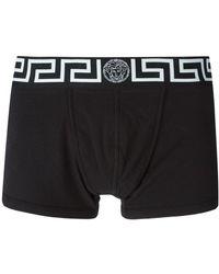 Versace - Calzoncillos con estampado Greca en la cinturilla - Lyst