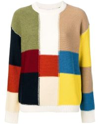 See By Chloé - Patchwork-style Sweater - Lyst