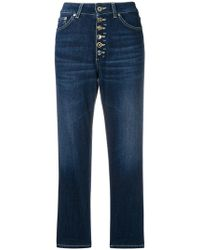 Dondup - Straight-cut Cropped Jeans - Lyst