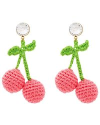 Venessa Arizaga - Cherry Earrings - Lyst