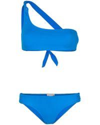 Tara Matthews - Calvi One-shoulder Bikini Set - Lyst