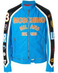 Moschino - Motocross Jacket - Lyst