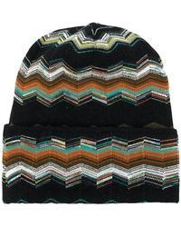 Missoni - Patterned Beanie - Lyst