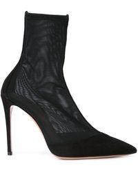 Aquazzura - Follie 105 Boots - Lyst