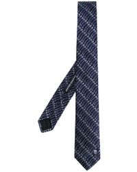 Alexander McQueen - Safety Pin Printed Tie - Lyst