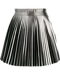 MM6 by Maison Martin Margiela - Pleated Short Skirt - Lyst
