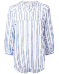 Apiece Apart - Boxy Striped Blouse - Lyst