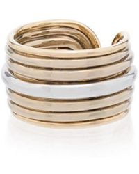 Fernando Jorge - Metallic Groove 18k Gold Stacked Ring - Lyst