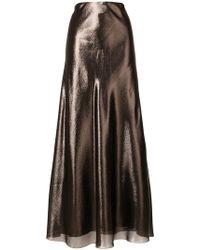 Alberta Ferretti - High Shine Skirt - Lyst