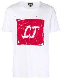 Just Cavalli - 'Double J' T-Shirt - Lyst