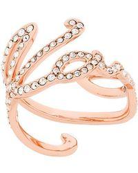 Karl Lagerfeld - Karl Signature Ring - Lyst