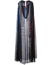 Missoni - Mesh Knit Hooded Cape - Lyst