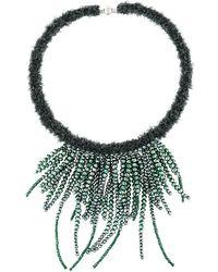 Fabiana Filippi - Multi String Beaded Necklace - Lyst