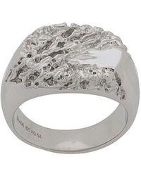 Maria Black - Rock Signet Ring - Lyst