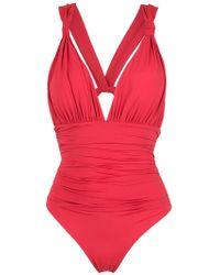 Brigitte Bardot - Cut Out Swimsuit - Lyst