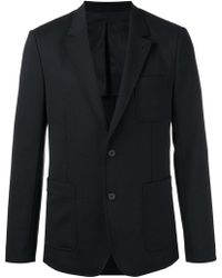 AMI - Half-lined Two Button Jacket - Lyst