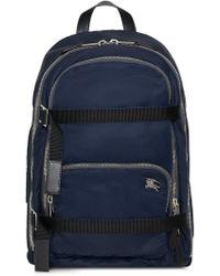 e9634ee62d64 Burberry - Large Ekd Aviator Nylon Backpack - Lyst