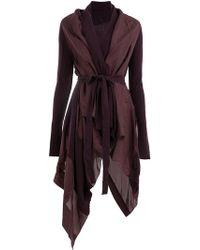 Masnada - Asymmetric Cashmere Dress - Lyst