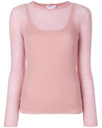 Max Mara - Layered Knit Top - Lyst