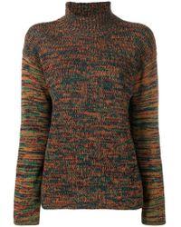 Marni - Knitted Melange Sweater - Lyst