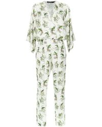 Andrea Marques - Kimono Jumpsuit - Lyst